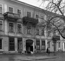 Дом № 33 по ул. Карла Либкнехта. 1842, арх. Г.И. Торичелли. Одесса. 1980-е гг.