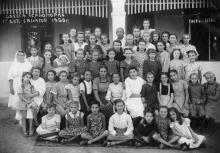 Одесса. Черноморка. 1-й детский санаторий. 1950 г.
