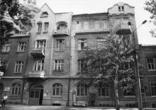 Дом по ул. Чижикова, № 7, б. Витте, 1911, арх. А.Н. Клепинин. Одесса. 1980-е гг.