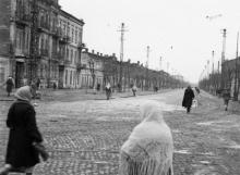 Одесса, ул. Малороссийская, слева дом № 92. Фото времен оккупации, 1941–1944 гг.