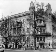 Улица Энгельса, дом № 2, б. Лукацкого, 1902, арх. М.И. Линецкий, С.С. Гальперсон. Одесса. 1980-е гг.