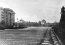 Одесса. Площадь им. Октябрьской революции. Конец 1950-х гг.