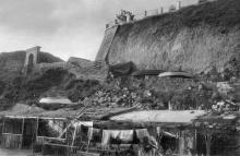 Берег 10-й станции. Фото 1930-х гг.
