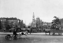 Привокзальная площадь, 1917 г.