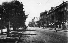 Одеса, вул. 10-річчя Червоної Армії. Поштова картка. 1933 р.
