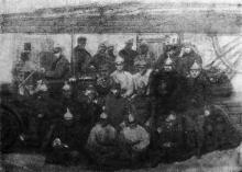 Фотография в журнале «Огонек». 1925 г.