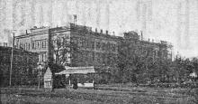 Юнкерское училище. Фотография в иллюстрированном путеводителе Вайнера «Одесса». 1901 г.