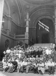 Одесса. Вход в филармонию. 1950 г.