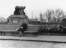 Одесса. Возле памятника «Пушка». 1964 г.