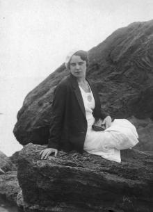 Одесса. На берегу у моря. 1934 г.