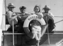 На катере «Капелла». Одесса. 1962 г.