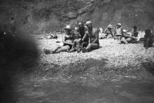 Одесса. На пляже. 1950-е гг.