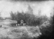 В лагере 7-го артвоздухоотряда в колонии Люстдорф. Одесса. 1924 г.