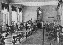 Механотерапевтический институт на Карантинной, 9. Фото из рекламы в иллюстрированном путеводителе Вайнера «Одесса». 1901 г.