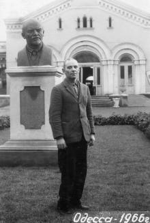 Одесса. Курорт «Куяльник». 1966 г.