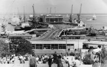 Одесса. Вид на морской вокзал. 1970-е гг.