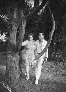 В санатории ЛСУ. Одесса. 1939 г.
