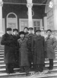 В санатории им. Чкалова. Одесса. 1951 г.