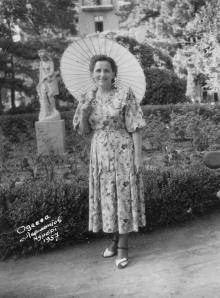 Одесса. Лермонтовский курорт. 1957 г.