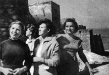 Юго-восточная часть крепости, обращенная к Днестровскому лиману. Фотография в буклете «Белгород-Днестровская крепость». 1961 г.