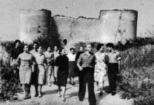 Цитадель. Фотография в буклете «Белгород-Днестровская крепость». 1961 г.