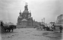 Одесса. Вознесенская (Мещанская) церковь. Фотография из собрания музея в Гётеборге, Швеция. 1897 г.