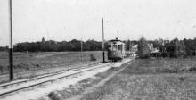 Дорога между Дачей Ковалевского и Люстдорфом, фотограф Крикор Магникян, 1926 г.