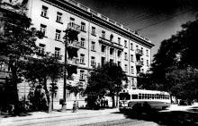 Ул. Х-летия Красной Армии (Преображенская), 1950-е годы