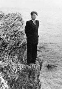 На берегу моря. Одесса. 1960 г.