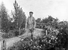 В Одессе на даче. 1934 г.