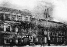 Последствия гололедицы в Одессе