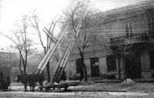 Последствия гололедицы в Одессе, 1902 г.