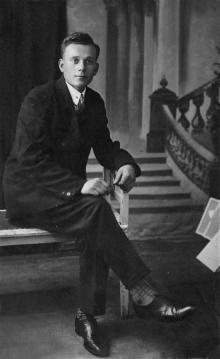 Дмитрий Никитович Езеров, брат Петра, ок. 1930 г.