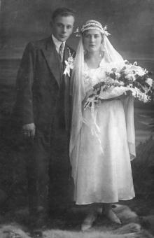 Дмитрий и Людмила Езеровы, ок. 1935 г.