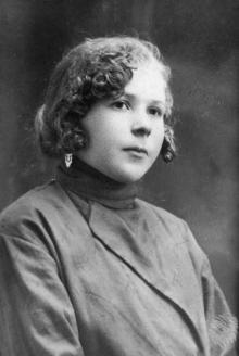 София Никитовна Езерова, сестра Петра, ок. 1925 г.