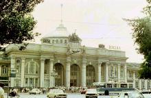 Одесский вокзал, 1989 г.