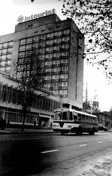 Улица Ленина (Ришельевская), фотограф Г. Огинский, 1972 г.