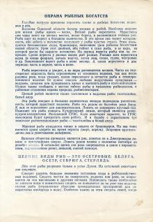 Памятка отрядам Голубых патрулей. 3-я страница. Одесса. 1970 г.