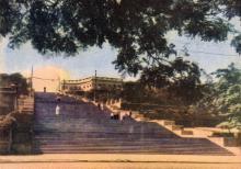 Потьомкінські сходи. Фото в буклеті «Одеса». 1960 р.