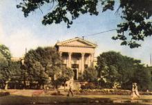 Державний археологічний музей. Фото в буклеті «Одеса». 1960 р.