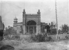 Петровский сельскохозяйственный техникум (б. усадьба Курисов). 5 июля 1941 г.