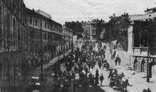 Бегство в порт. Фото в журнале «Огонек» № 43, 23 октября 1927 г.