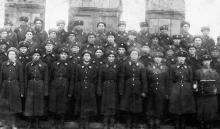 Отряд милиции, охрана водопроводной станции «Днестр». 1939 г.