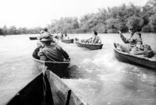 На реке Турунчук (на охоту)