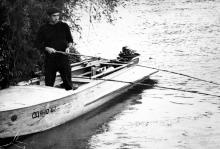 Рыбалка на реке Турунчук. 1980-е гг.