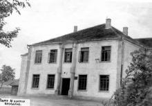 Беляевка. Средняя школа № 1 на ул. Костина. Конец 1960-х гг.
