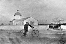 Успенская церковь на ул. Костина. Беляевка. 1960-е гг.