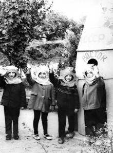 Детский сад на пр-те Октябрьской революции. Беляевка. 1960-е гг.