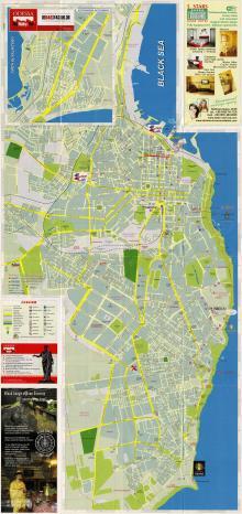 План города в издании «Одесса: карта города, музеи, достопримечательности». 2009 г.
