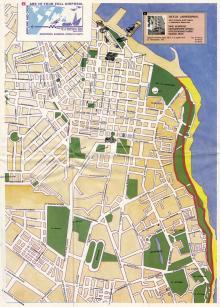 Карта-схема «Одесса приглашает» от турагентства «Лондонская». 2006 г.